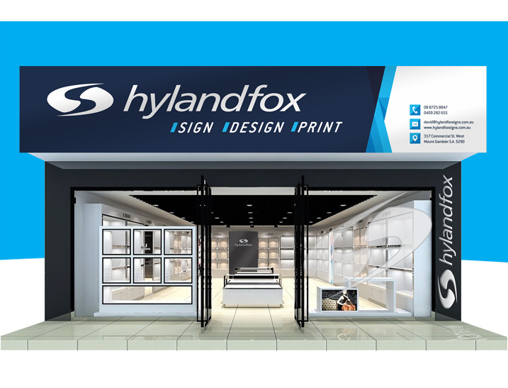 Hyland Fox Signs Premises Signage